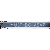 Work Day- Asap Pointer