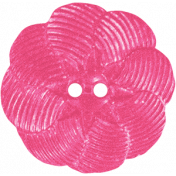 Summer Splash- Pink Flower Button