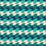 Summer Splash- Wave Paper 2