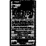 Vintage Advertisement Stamp 012