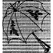 Strawberry Illustration Stamp 009