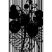 Strawberry Illustration Stamp 013