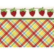 Strawberry Fields- Journal Card 23