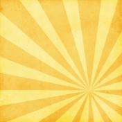 Strawberry Fields- Sunburst Rays Paper