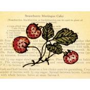 Strawberry Fields- Journal Card 11