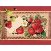 Strawberry Fields- Journal Card 18