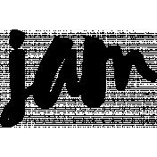 Word Art Template 073