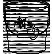 Bucket Doodle Template 001