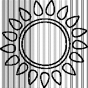 Sun Doodle Template 003