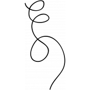 Swirl Doodle Template 006