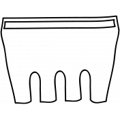 Basket Doodle Template 001