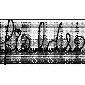 Doodle Word Art Template 033