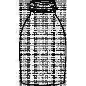 Jar Doodle Template 003