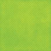 Strawberry Fields- Lime Green Dots Paper