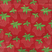 Strawberry Fields- Large Strawberry Paper