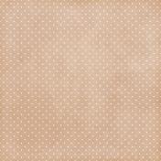 Strawberry Fields- Light Brown Dot Paper