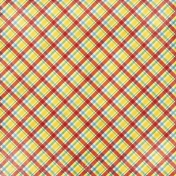 Strawberry Fields- Plaid Paper
