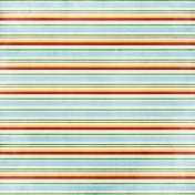 Strawberry Fields- Stripe Paper