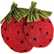 Strawberry Fields- Fabric Strawberry 2
