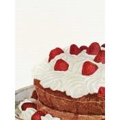 Strawberry Fields- Journal Card 12- Strawberry Cake