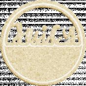 Strawberry Fields- Cream Word Art- Juicy