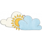 Strawberry Fields- Cloud Doodle Charm