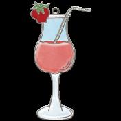 Strawberry Fields - Drink Doodle Charm
