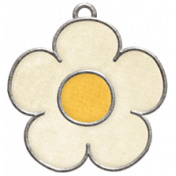 Strawberry Fields- Flower Doodle Charm 04