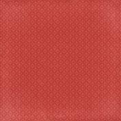 Strawberry Fields- Red Geo Paper