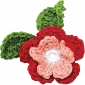 Strawberry Fields- Crochet Flower 2