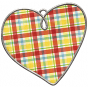 Strawberry Fields- Heart Doodle Charm 02