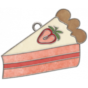 Strawberry Fields- Pie Doodle Charm