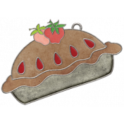 Strawberry Fields- Pie Doodle Charm 02