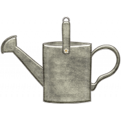Strawberry Fields- Watering Can Doodle Charm