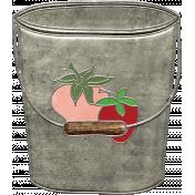 Strawberry Fields- Bucket Doodle