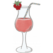 Strawberry Fields- Drink Doodle