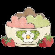 Strawberry Fields- Ice Cream Doodle