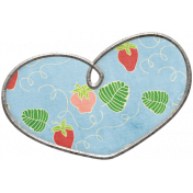 Strawberry Fields- Heart Doodle 03