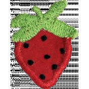 Strawberry Fields- Fabric Strawberry