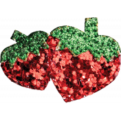 Strawberry Fields- Glitter Strawberry 2