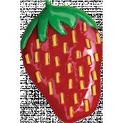 Strawberry Fields- Plastic Strawberry