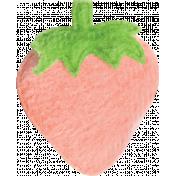 Strawberry Fields- Pink Felt Strawberry