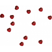 Strawberry Fields- Straberry Bead Scatter