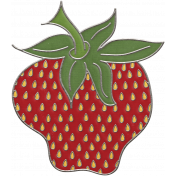 Strawberry Fields- Strawberry Doodle 01