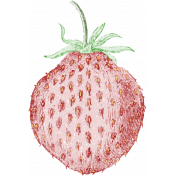 Strawberry Fields- Chalk Strawberry Stamp 06
