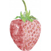 Strawberry Fields- Chalk Strawberry Stamp 10