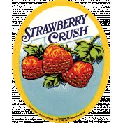 Strawberry Fields- Strawberry Label