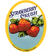 Strawberry Fields- Strawberry Label