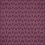Autumn Day- Purple Ornamental Paper
