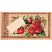 Strawberry Fields- Cling Card 03